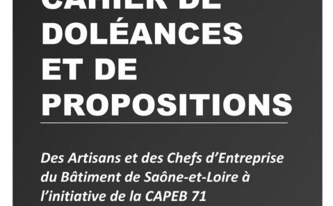 capeb71-Cahier-de-doléances (2019)