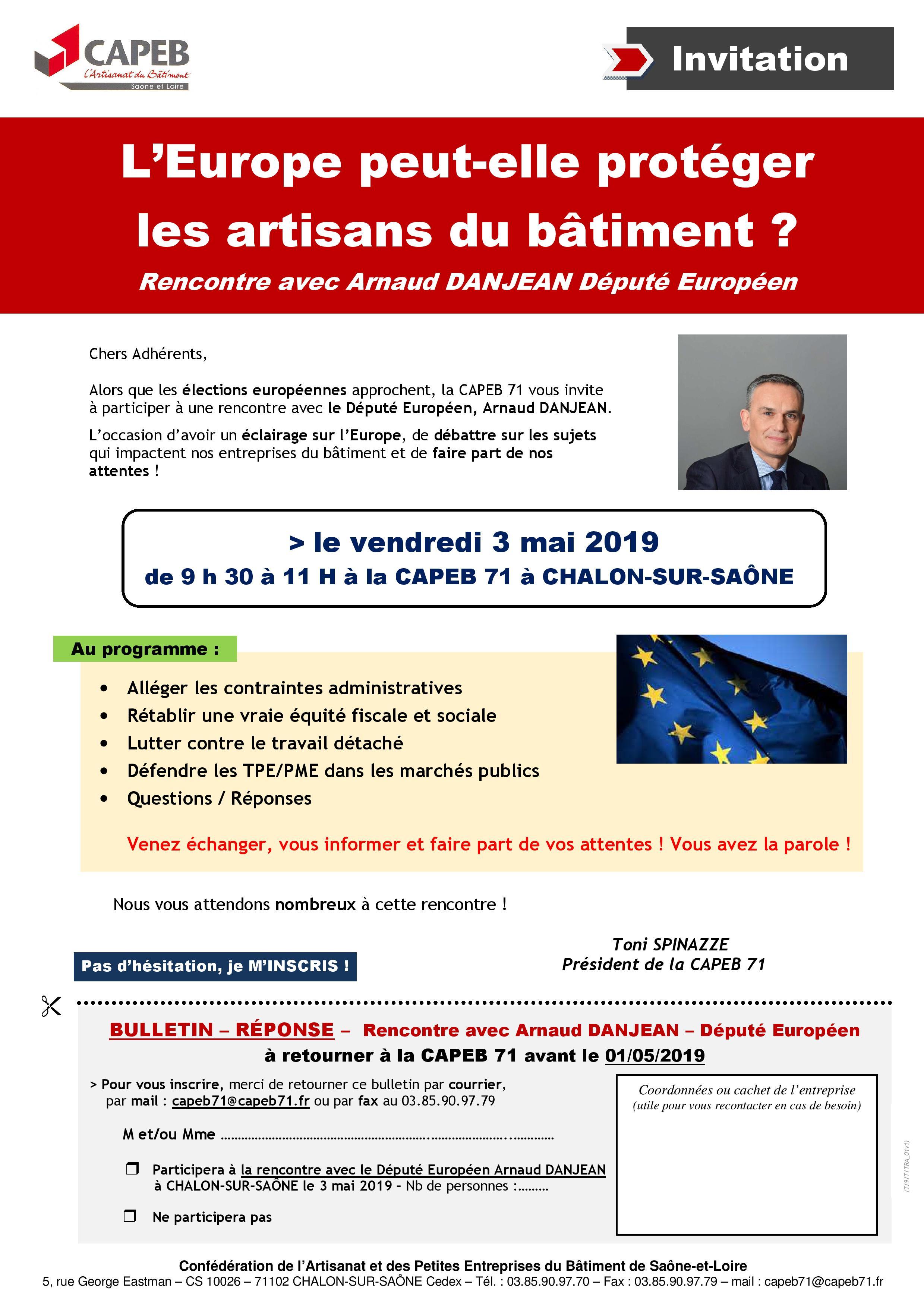 190503_capeb71_Invitation rencontre avec Arnaud DANJEAN